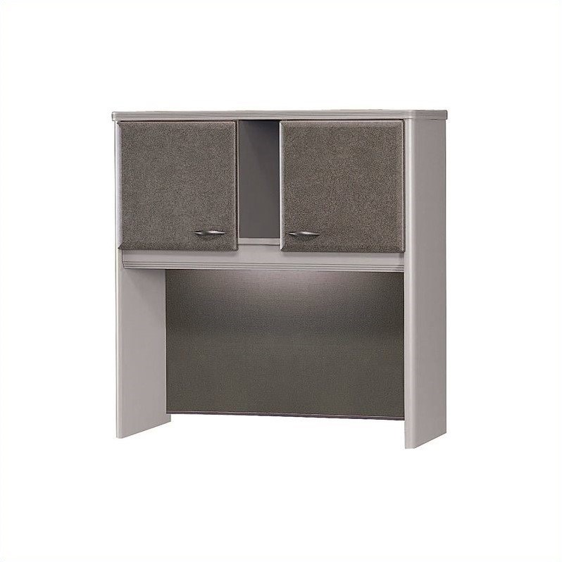 Bush Business Furniture Series A Collection 36W Hutch in Gray
